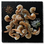 Previously Frozen Raw Extra Jumbo White Shrimp Shell-On, Farm Raised