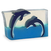 Primal Elements Dueling Dolphins Bar Soap