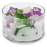 Primal Elements Lavender Color Bowl Candle