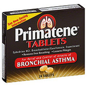 Primatene Bronchial Asthma Tablets