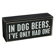 Primitives By Kathy In Dog Beers Box Sign