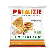 Primizie All Natural Gouda & Garlic Thick Cut Crispbreads