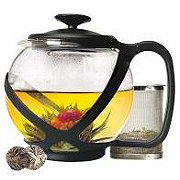 Primula Tempo Glass Teapot Black