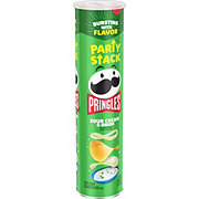 Pringles Mega Stack Sour Cream & Onion Potato Crisps