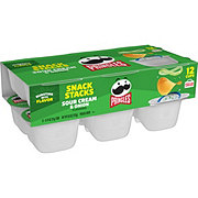Pringles Snack Stacks! Sour Cream & Onion Potato Crisps