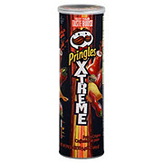 Pringles Xtreme Blastin Buffalo Wing Flavored Potato Crisps