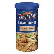 Progresso Garlic and Herb Bread Crumbs