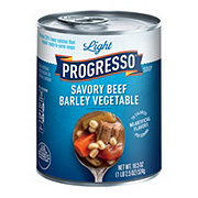 Progresso Light Savory Beef Barley Vegetable Soup