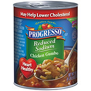 Progresso Reduced Sodium Heart Healthy Chicken Gumbo Soup