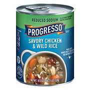 Progresso Reduced Sodium Heart Healthy Chicken & Wild Rice Soup