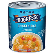 Progresso Traditional Chicken Rice with Vegetables Soup