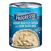 Progresso Traditional Soup Creamy Roasted Chicken Herb Dumplings