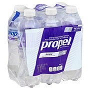 Propel Zero Calorie Grape Water Beverage 16.9 oz Bottles