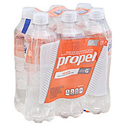 Propel Zero Calorie Peach Water Beverage 16.9 oz Bottles