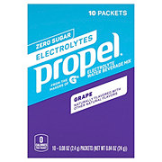 Propel Zero Nutrient Enhanced Grape Water Beverage Mix