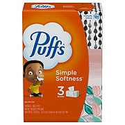 Puffs Facial Tissues, 3 pk