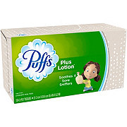 Puffs Plus Lotion Facial Tissues, Colors & Designs May Vary