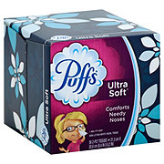 Puffs Ultra Soft Facial Tissue Cube