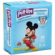 Pull-Ups Cool & Learn Potty Training Pants for Boys 25 ct