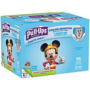 Pull-Ups Cool & Learn Potty Training Pants for Boys 66 ct