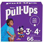 Pull-Ups Learning Design Boys, 66 ct
