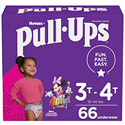 Pull-Ups Learning Design Girls, 66 ct
