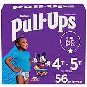 Pull-Ups Learning Designs Potty Training Pants for Boys 56 ct