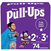 Pull-Ups Learning Designs Potty Training Pants for Boys 74 ct