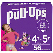 Pull-Ups Learning Designs Potty Training Pants for Girls 56 ct