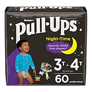 Pull-Ups Night Time Training Pants for Boys, 60 ct