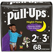 Pull-Ups Night Time Training Pants for Boys, 68 ct