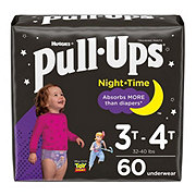 Pull-Ups Night Time Training Pants for Girls, 60 ct