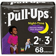 Pull-Ups Night Time Training Pants for Girls, 68 ct