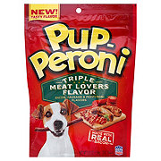 Pup-Peroni Triple Meat Lovers Flavor Dog Treats