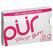 Pur Pomegranate Mint Gum