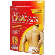 Pure Aid Pain Relief Hot Patch