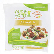 Pure Farms All Natural Homestyle Meatballs
