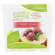 Pure Farms All Natural Italian Meatballs