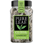 Pure Leaf Iced Green Tea with Citrus Pyramid Tea Bags