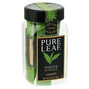 Pure Leaf Matcha Green Tea With Ginger Sachets