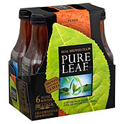 Pure Leaf Real Brewed Peach Tea 18.5 oz Bottles