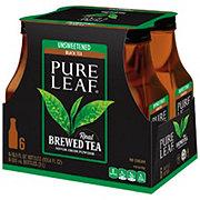 Pure Leaf Unsweetened Tea 18.5 oz Bottles