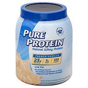 Pure Protein Vanilla Creme 100% Natural Whey Protein