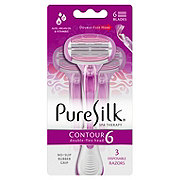 Pure Silk Contour 6 Disposable Razor