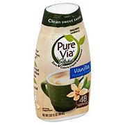 Pure Via Vanilla Stevia Zero Calorie Liquid Sweetener
