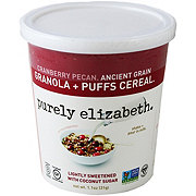 Purely Elizabeth Granola Puffs Cranberry Pecan