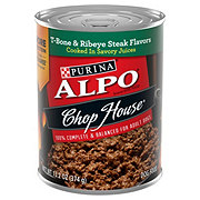 Purina Alpo Chop House T-bone & Ribeye Steak Flavor Dog Food