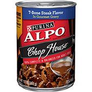 Purina Alpo Chop House T-Bone Steak in Gravy Wet Dog Food