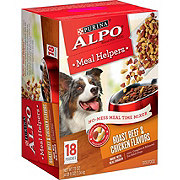Purina Alpo Meal Helpers Roast Beef and Chicken Dog Food