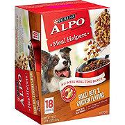 Purina Alpo Meal Helpers Roast Beef & Chicken Wet Dog Food
